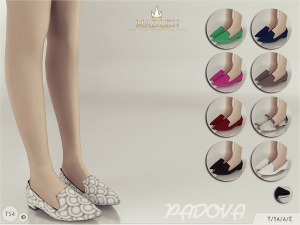 Sims 4 Madlen Padova Shoes by MJ95 at TSR
