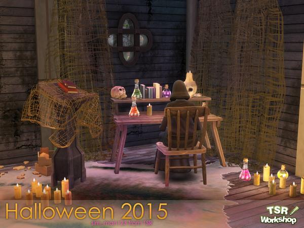 Sims 4 Halloween 2015 set by sim man123 at TSR