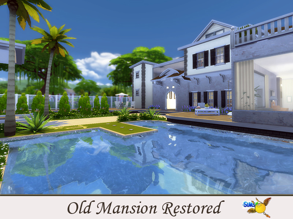 Old Mansion Restored by evi at TSR image 3911 Sims 4 Updates