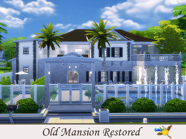 Old Mansion Restored by evi at TSR image 4010 Sims 4 Updates