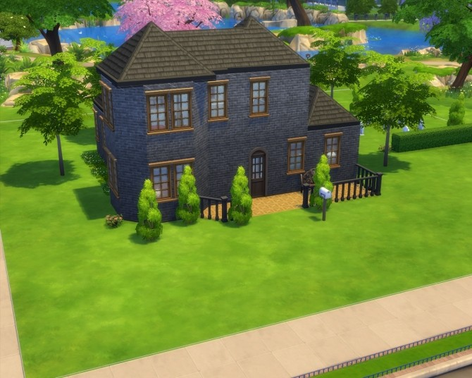 Sims 4 TS1   TS4 Remake: 5 Sim Lane by JaseySim at Mod The Sims