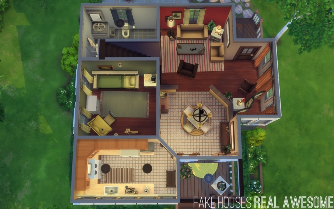Fake houses real awesome sims 4 updates best ts4 cc for Awesome sims