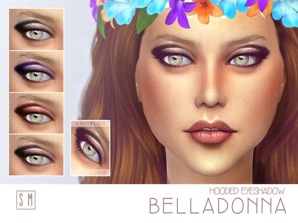 Sims 4 Belladonna Hooded Eyeshadow by Screaming Mustard at TSR