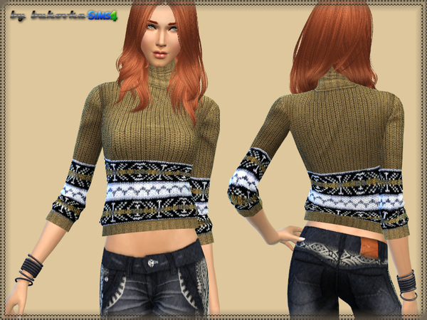 Sweater Turtleneck at Bukovka image 4109 Sims 4 Updates