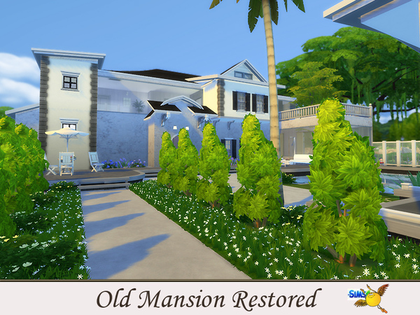 Old Mansion Restored by evi at TSR image 4115 Sims 4 Updates