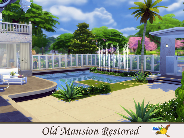 Old Mansion Restored by evi at TSR image 4212 Sims 4 Updates