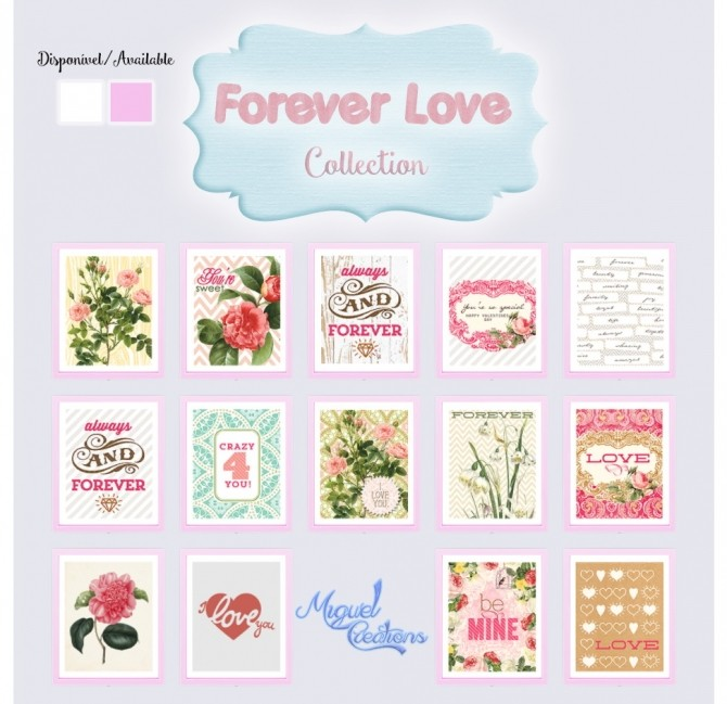 Forever Love Collection at Victor Miguel image 4214 670x649 Sims 4 Updates