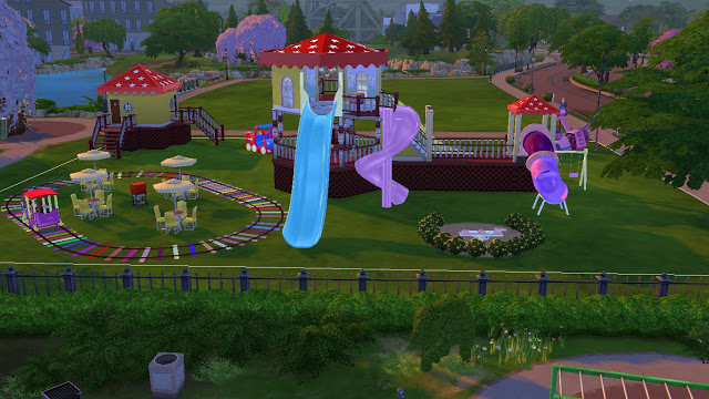 Sims 4 Playground Downloads 187 Sims 4 Updates