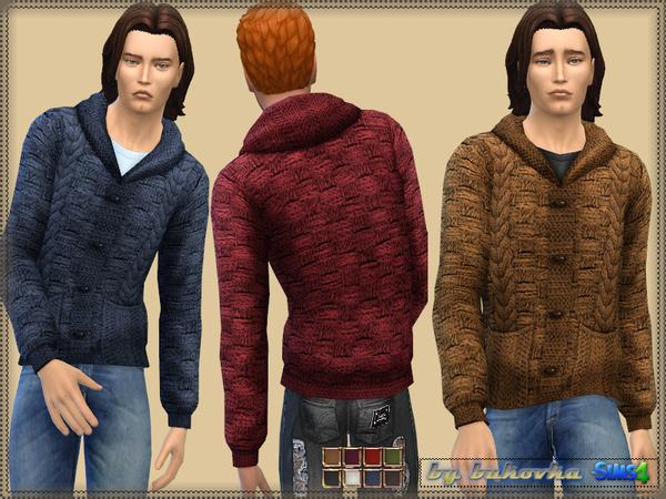 Sims 4 Jacket with Braids M by bukovka at TSR