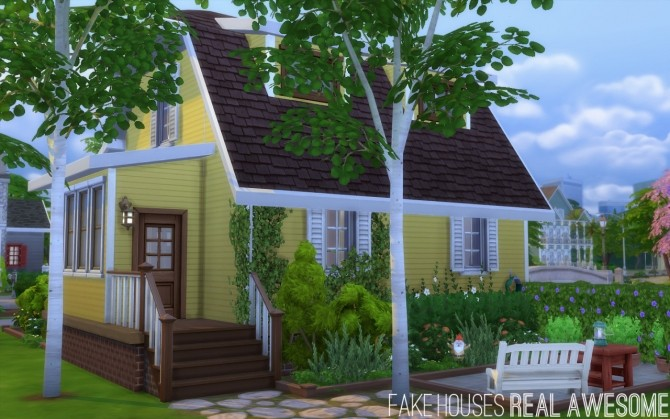 Bloomsbury house at fake houses real awesome sims 4 updates for Awesome sims