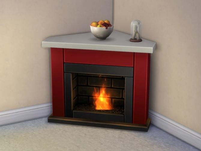 Diagonal Heat Seeker Fireplace + Mesh Override by ...