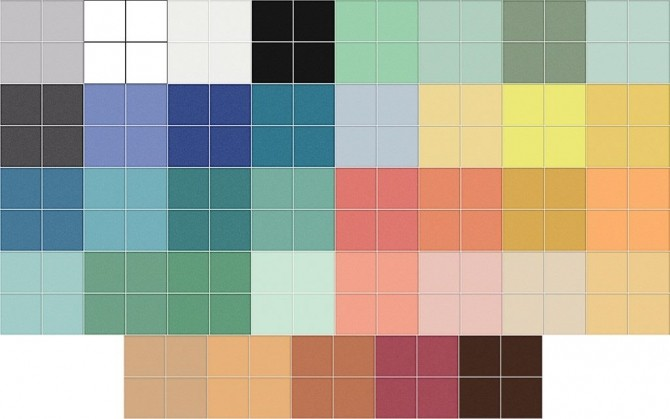 Sims 4 Deluxe Floor Tiles by AdonisPluto at Mod The Sims