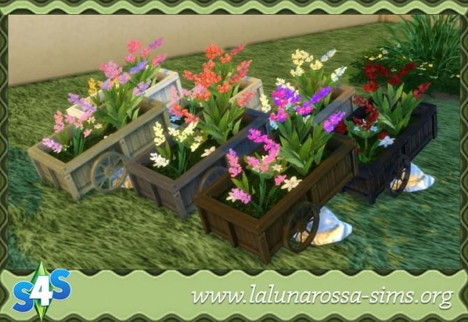 flower cart at lalunarossa sims 4 updates. Black Bedroom Furniture Sets. Home Design Ideas