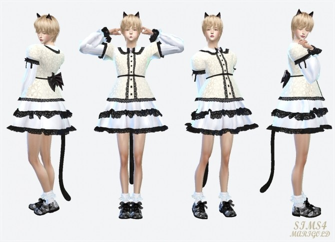 Male Classic Lolita Mini Dress At Marigold 187 Sims 4 Updates