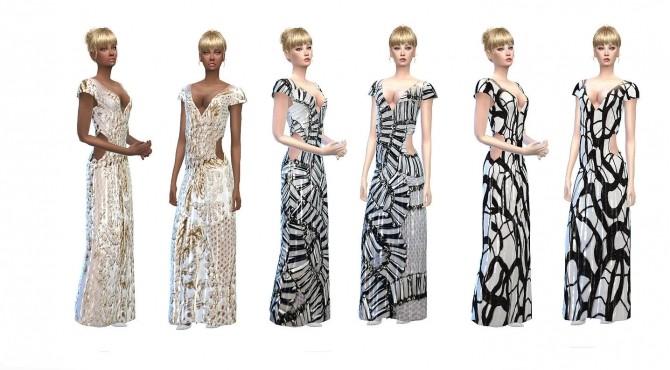 Sims 4 Couture dresses at Niriidaniriis – Fashiontale Sims4