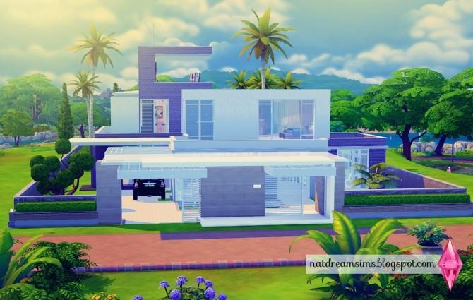 Moderninha house at Nat Dream Sims image 5121 670x425 Sims 4 Updates