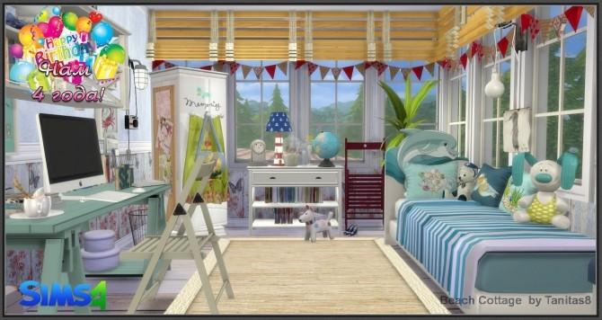 Sims 4 Beach Cottage Tanitas8 at Ladesire