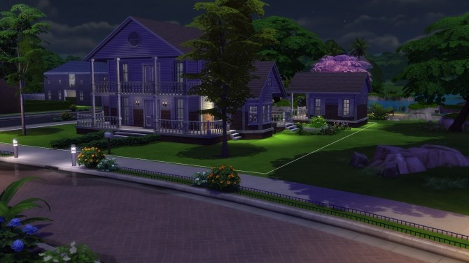 Sims 4 Tranquil Crescent Luxury Home by je625 at Mod The Sims