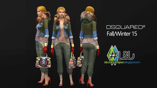 Fall/winter 15 clothes at La Boutique de Jean image 5132 Sims 4 Updates