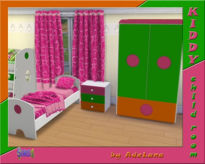 Sims 4 Kiddy Child room by AdeLanaSP at Mod The Sims