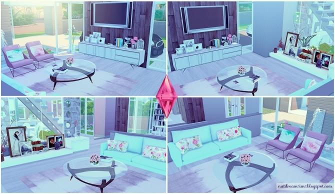 Moderninha house at Nat Dream Sims image 5217 670x388 Sims 4 Updates