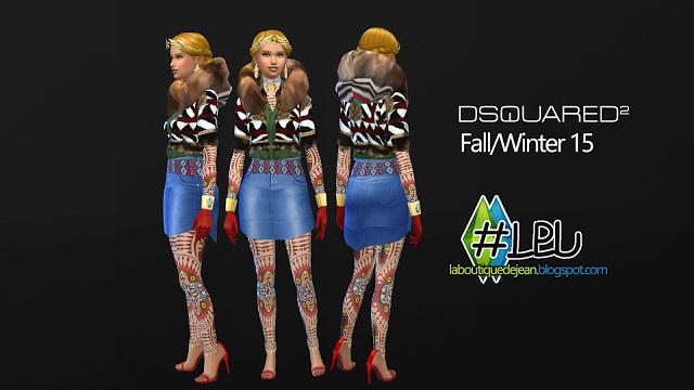 Fall/winter 15 clothes at La Boutique de Jean image 5229 Sims 4 Updates