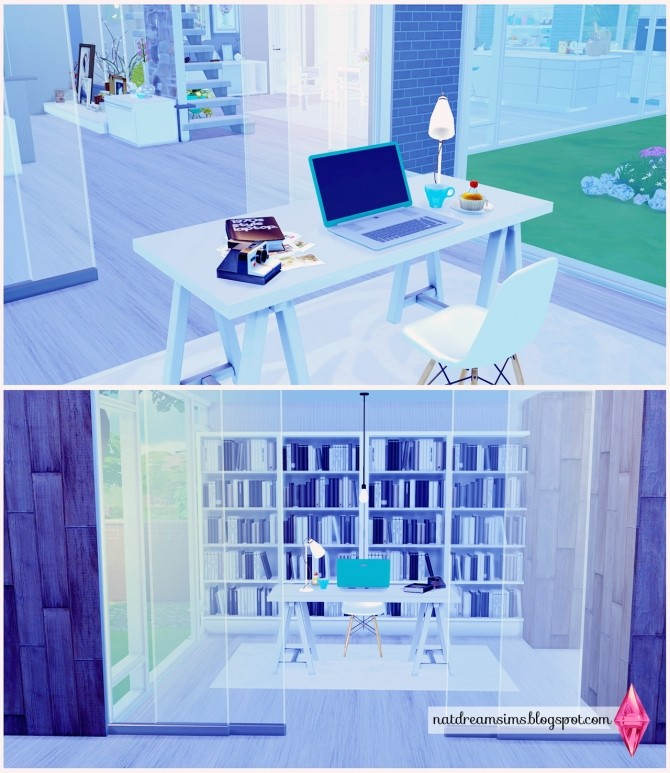 Moderninha house at Nat Dream Sims image 5316 670x773 Sims 4 Updates