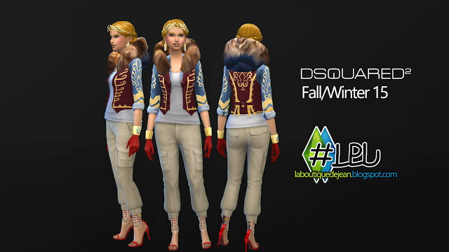 Fall/winter 15 clothes at La Boutique de Jean image 5327 Sims 4 Updates