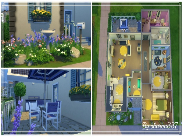 Sims 4 Wythburn House by sharon337 at TSR