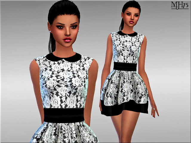 Clirissa Dress by Margie at Sims Addictions image 548 Sims 4 Updates