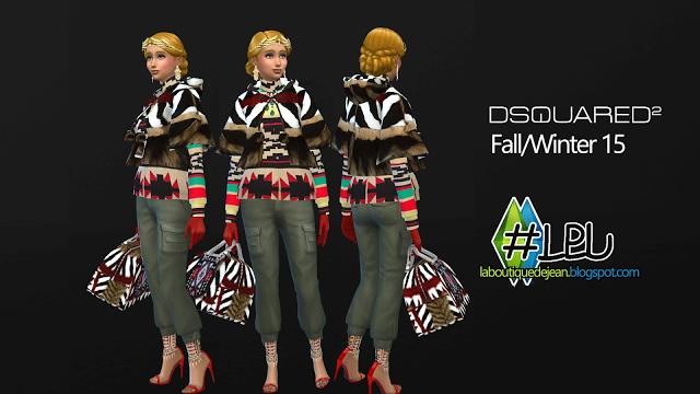 Fall/winter 15 clothes at La Boutique de Jean image 5526 Sims 4 Updates