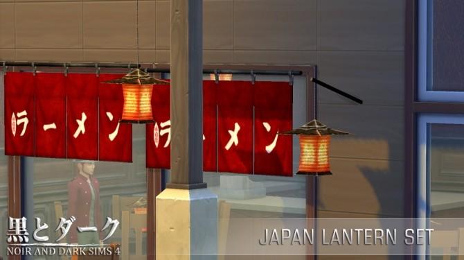 Yuxi Japan Lantern Set at Noir And Dark Sims image 556 670x375 Sims 4 Updates
