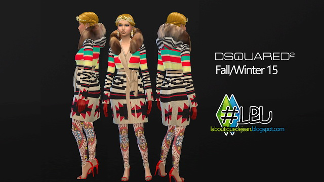 Fall/winter 15 clothes at La Boutique de Jean image 5626 Sims 4 Updates