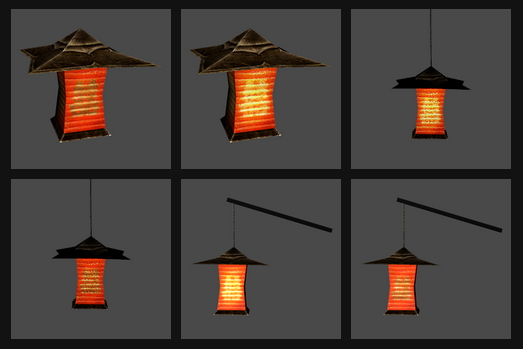 Yuxi Japan Lantern Set at Noir And Dark Sims image 565 Sims 4 Updates