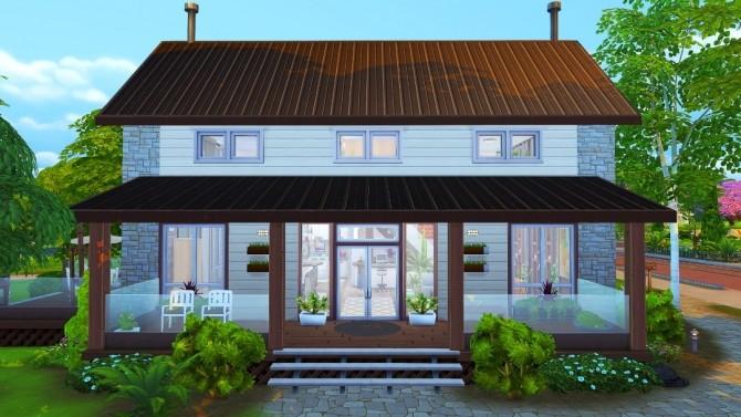 Sims 4 The Chetwood house at Jenba Sims