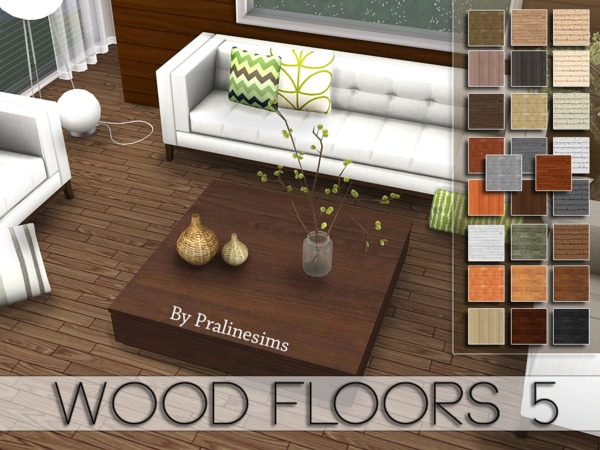 Wood Floors 5 By Pralinesims At Tsr 187 Sims 4 Updates