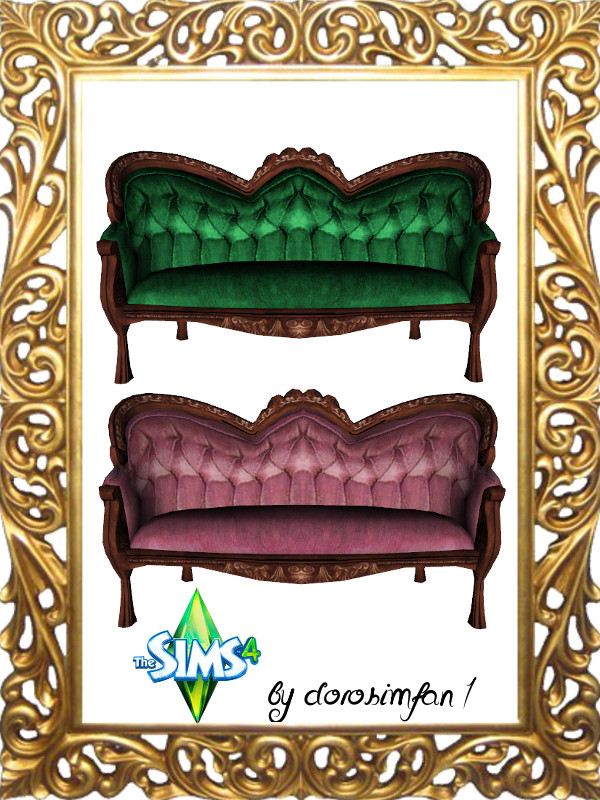 2T4 Sofa conversion by dorosimfan1 at Sims Marktplatz image 5813 Sims 4 Updates