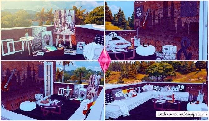 Moderninha house at Nat Dream Sims image 6016 670x388 Sims 4 Updates