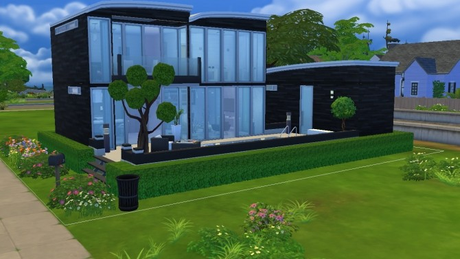 Negro & Blanco House by egael at Mod The Sims image 603 670x377 Sims 4 Updates