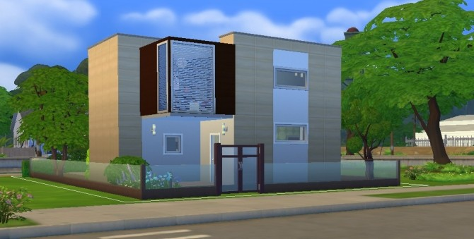 Mody House Simple Modern by egael at Mod The Sims Sims 4 Updates