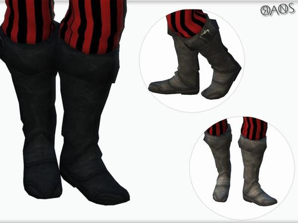 Sims 4 Pirate Costume Set by OranosTR at TSR