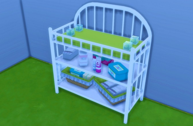 Sanitation Station Baby Changing Table at Plumbpool image 645 670x439 Sims 4 Updates