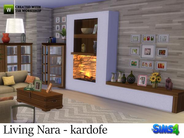 Sims 4 Living Nara by kardofe at TSR