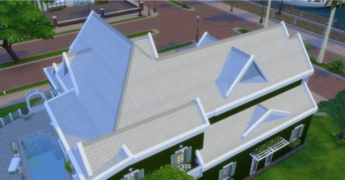 Fish Scale Roof by AdonisPluto at Mod The Sims image 6510 670x350 Sims 4 Updates
