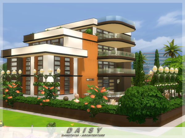 Daisy house by Danuta720 at TSR image 666 Sims 4 Updates