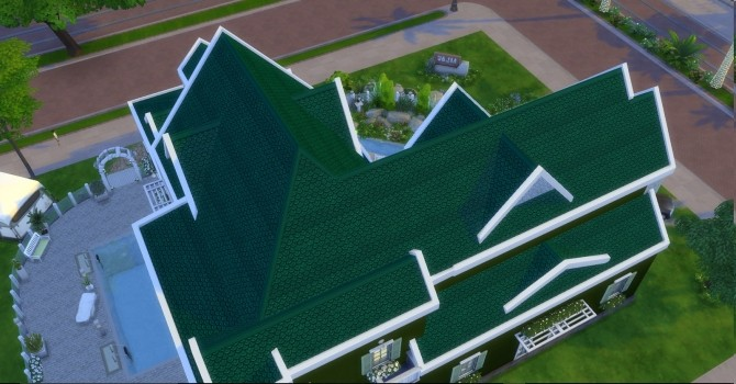 Fish Scale Roof by AdonisPluto at Mod The Sims image 6712 670x350 Sims 4 Updates