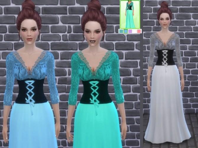 Medieval dress at Tatyana Name image 6813 670x503 Sims 4 Updates