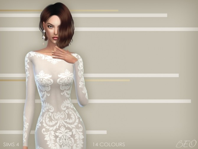 ANVEAY DRESS at BEO Creations image 6821 670x503 Sims 4 Updates