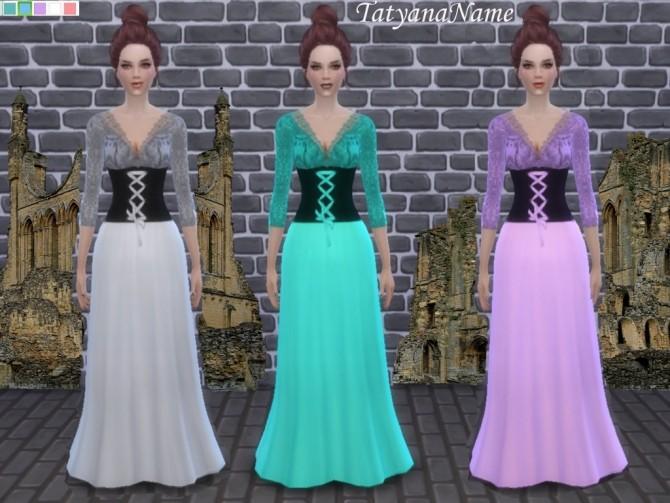 Medieval dress at Tatyana Name image 6914 670x503 Sims 4 Updates