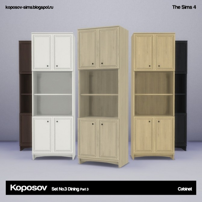 Set No.3 Dining Part 3 at Koposov image 692 670x670 Sims 4 Updates